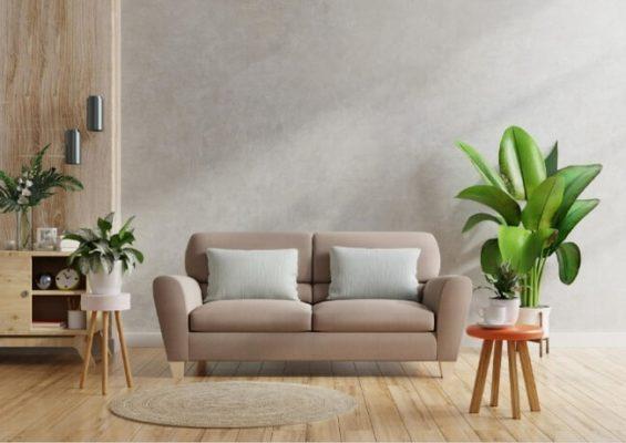 foto decoración salón moderno